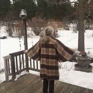 Vintage Fraser Cameron mohair/ wool cape/coat